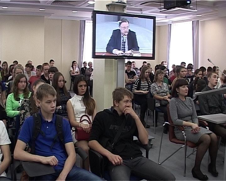 Видео-урок в библиотеке имени Герцена