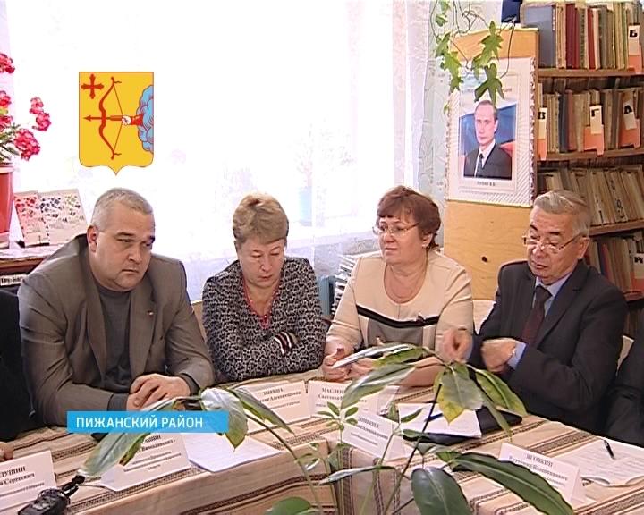 Депутаты ОЗС в Пижанке