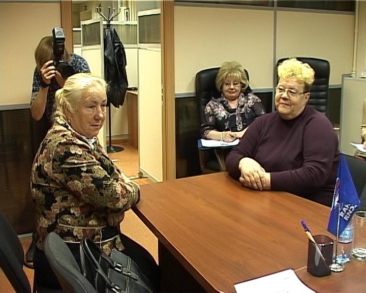 Владимир Быков провел прием граждан