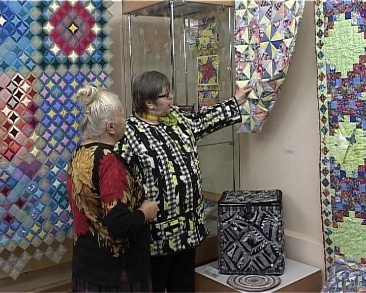 «Лоскутное шитье» в музее