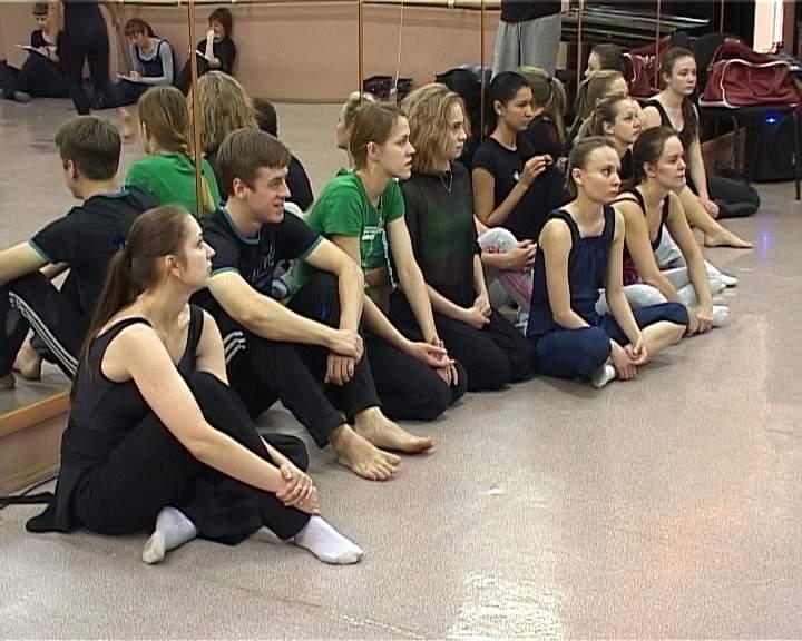 Мастер-класс по хореографии Павла Самохвалова