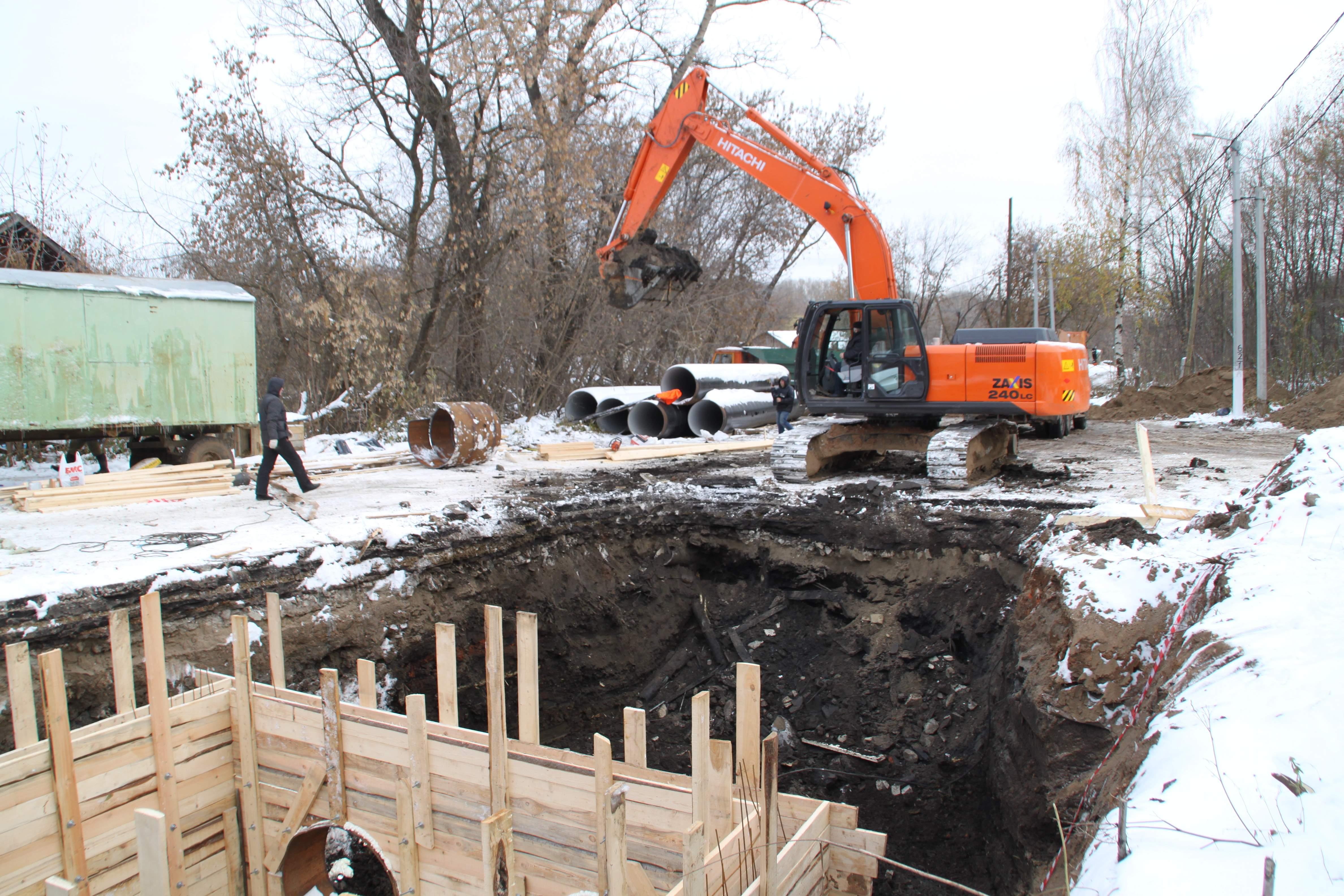 Строительство коллектора в Кирове вышло на завершающий этап