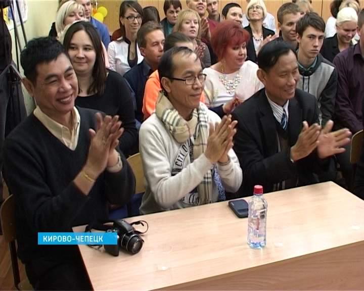 Гости из Тайланда в Кирово-Чепецкой гимназии № 1