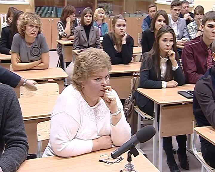 Никита Белых на встрече со школьниками в КЭПЛа