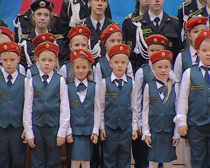 Посвящение в кадеты кировских школьников