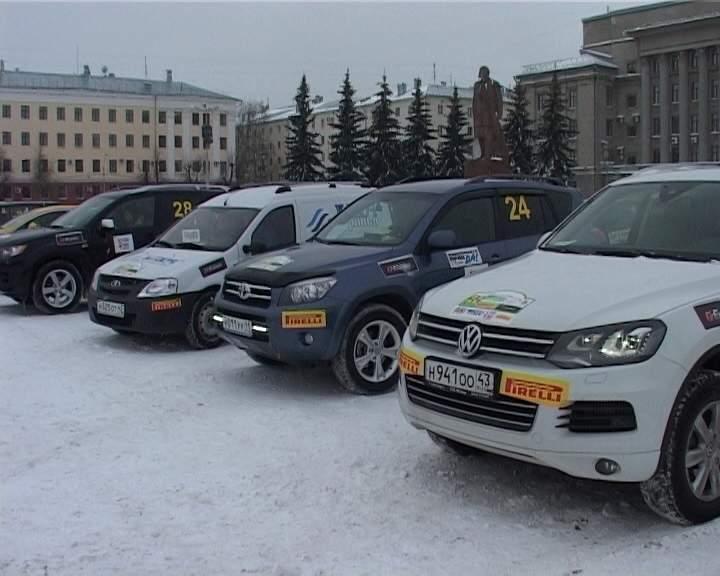 В Кирове прошла любительская гонка