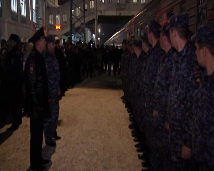 Кировские полицейские вернулись из Чечни