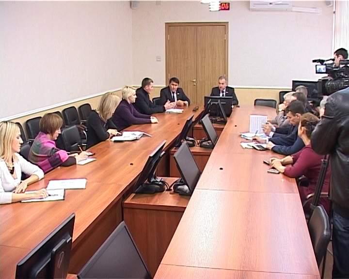 Встреча Владимира Быкова с  активистами общественной организации