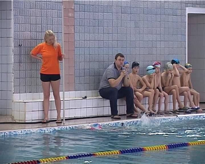 Экзамен по плаванию в бассейне «Олимпийский»