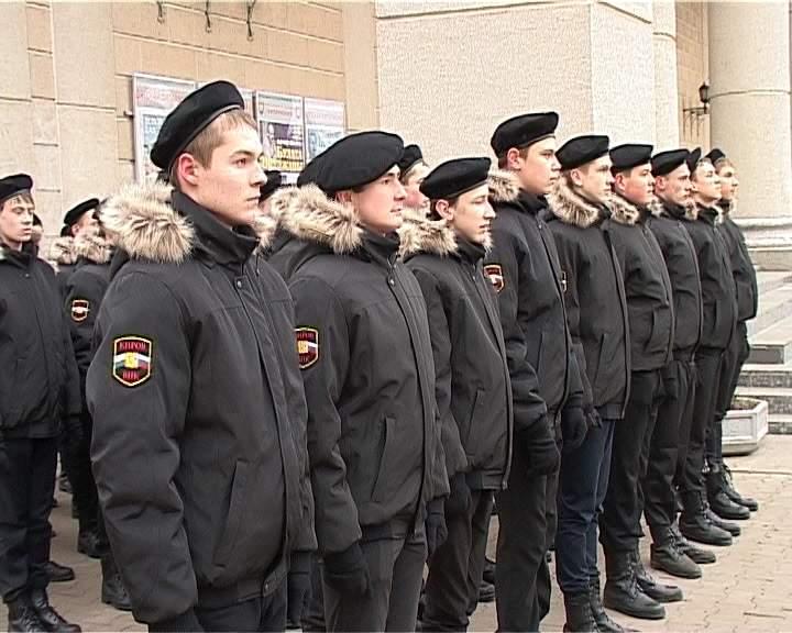 Репетиция кадетов