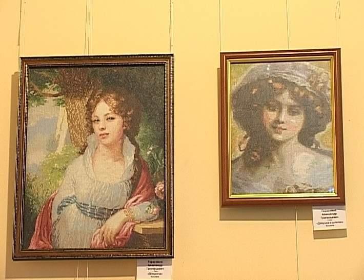 Выставка «Вышитая картина» в ОДНТ