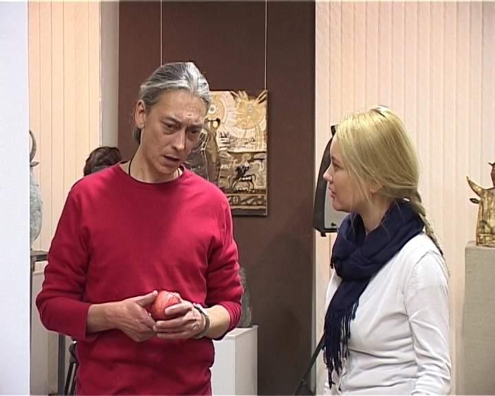 Выставка трех художников: Аркадия Николаева, Сергея Диденко и Дмитрия Никитина