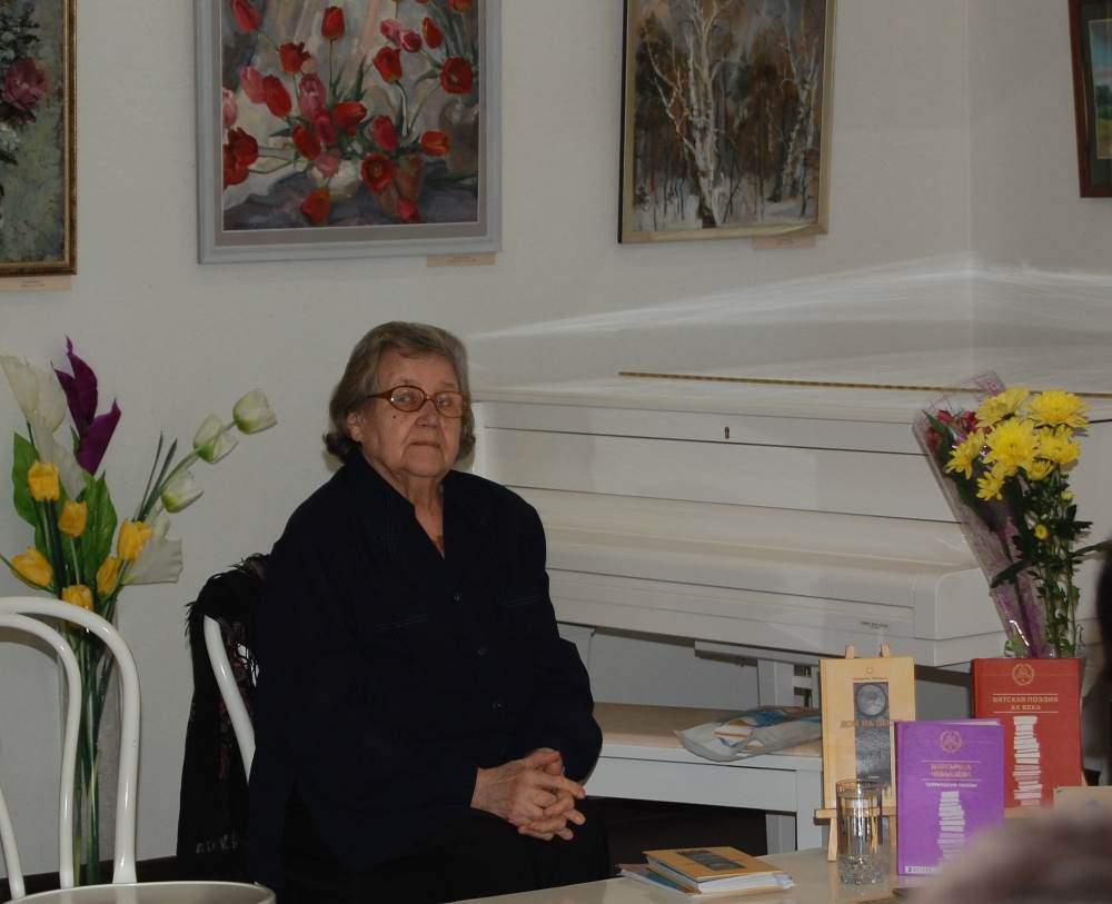 Скончалась известная кировская поэтесса Маргарита Чебышева.