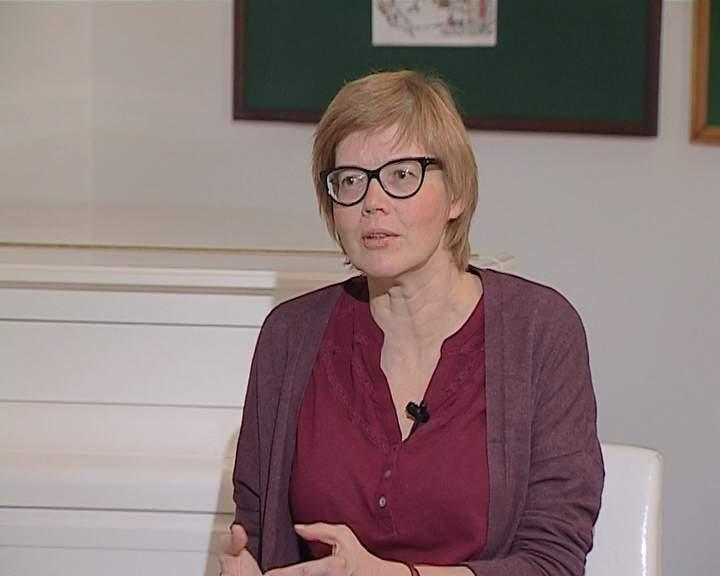 Писательница Майя Кучерская в Кирове