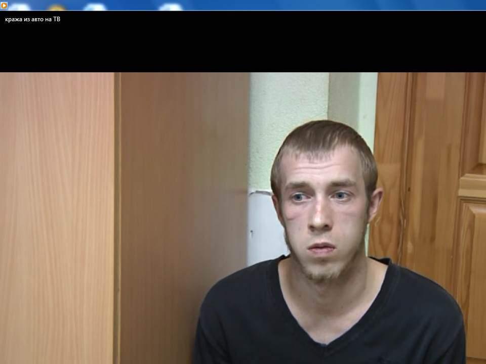 В Кирове задержан подозреваемый в серии краж из автомобилей.