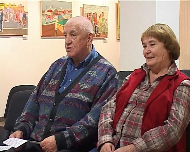 Выставка петербургских художников Олега Фронтинского и Юлии Горской