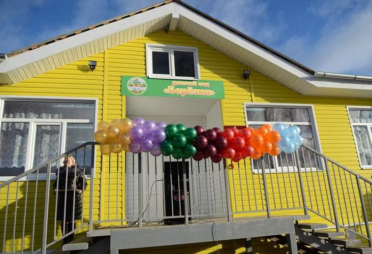 В пос. Подрезчиха Белохолуницкого района открылся новый детский сад.