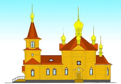 Жители села Бисерово Афанасьевского района строят храм и просят мир помочь в большом деле.