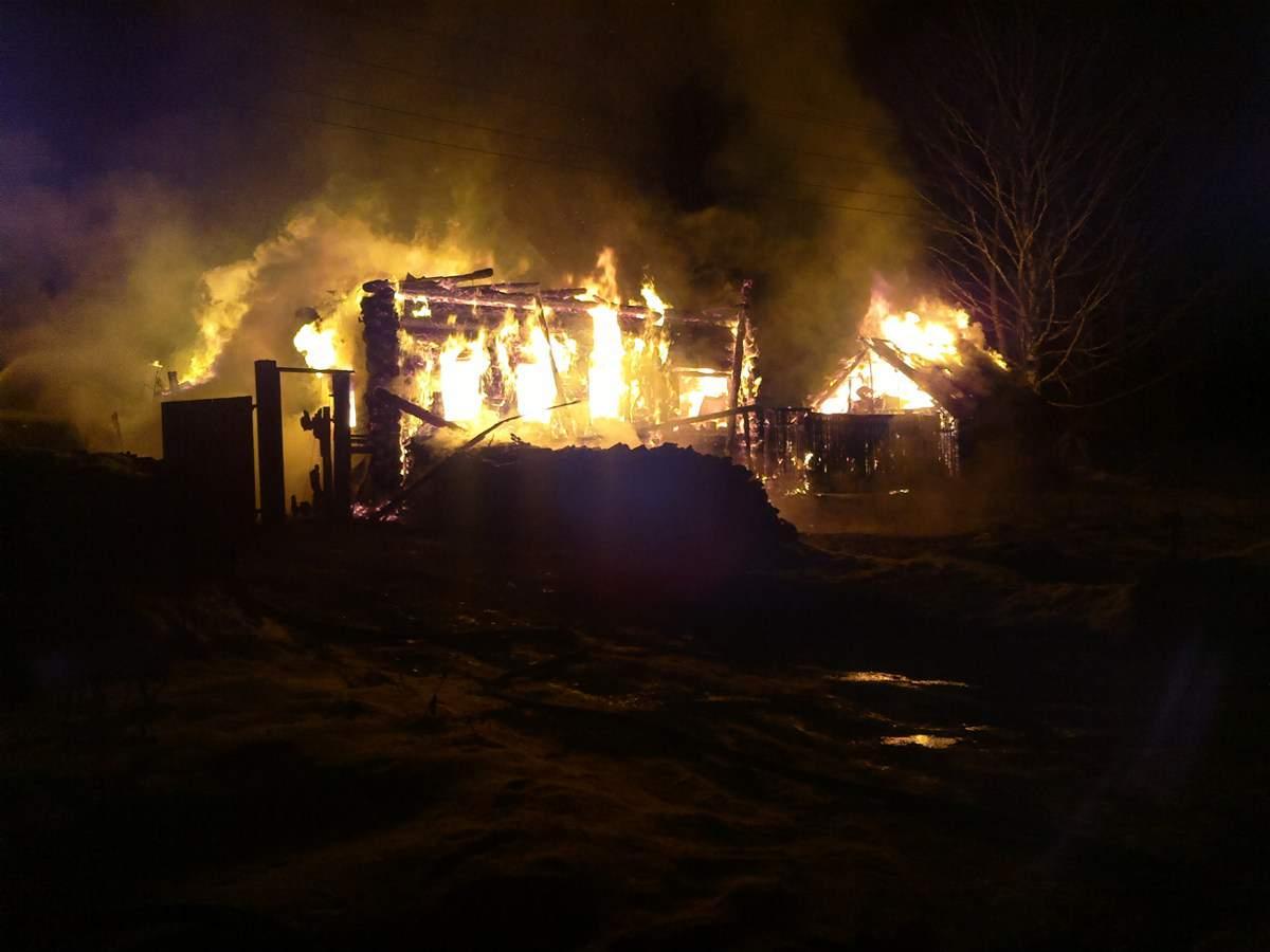 В Кильмезском районе сгорел жилой дом.