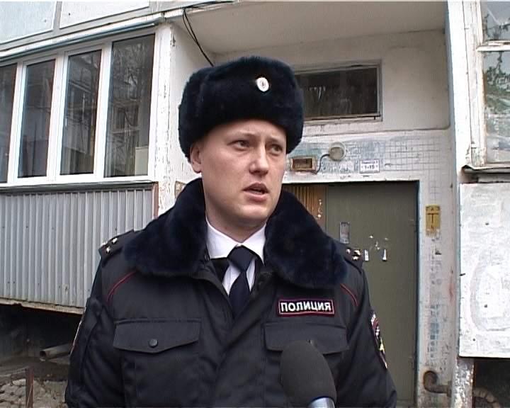 О трудовых буднях участкового Андрея Чернядьева