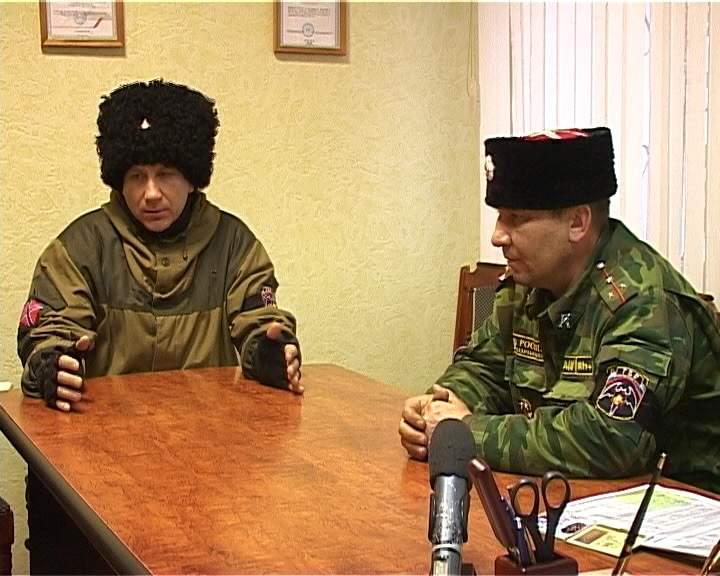 Вятские казаки вернулись из Луганска