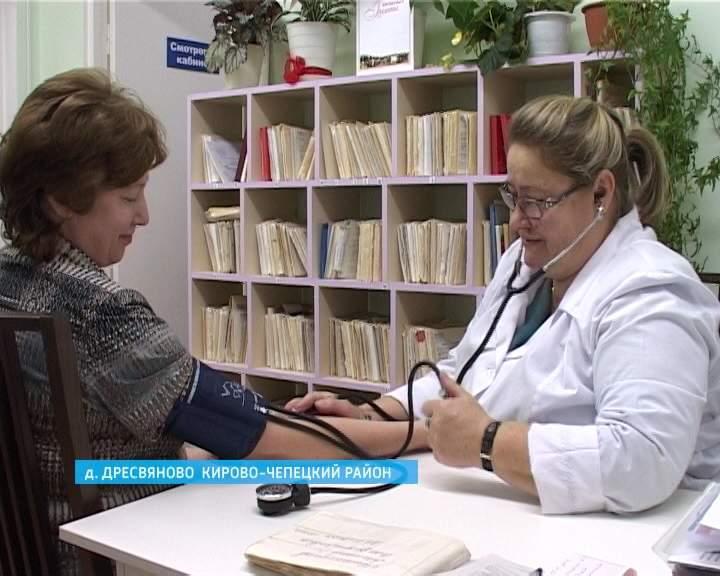 Новый ФАП в деревне Дресвяново Кирово-Чепецкого района
