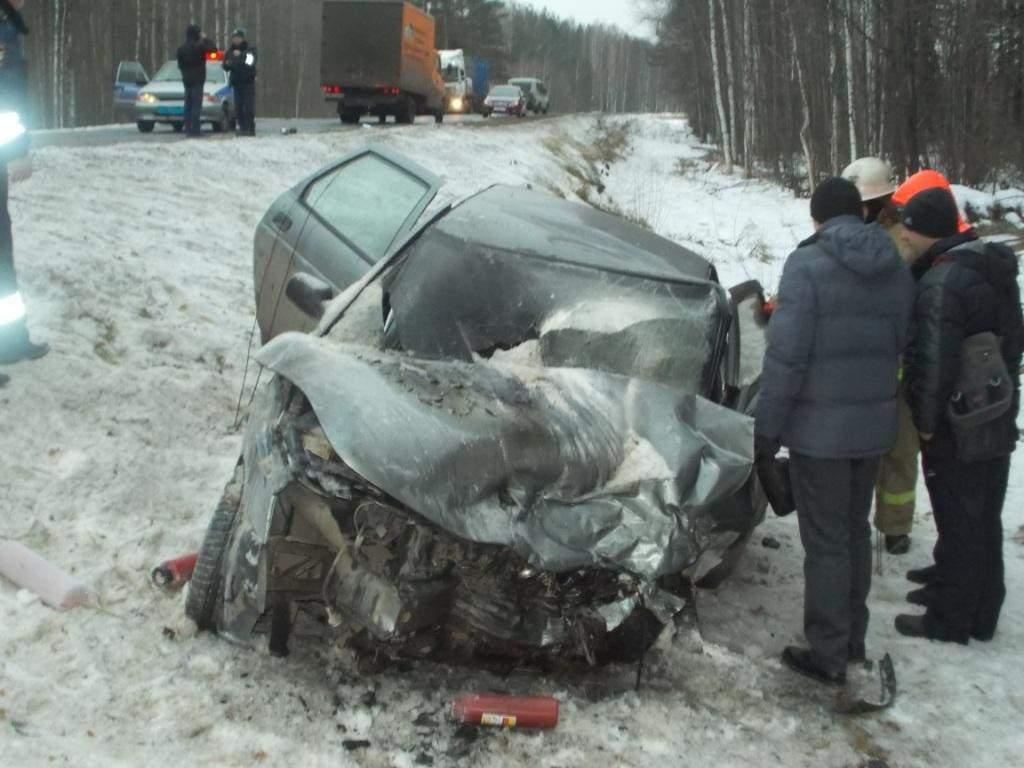 В Котельничском районе произошло страшное ДТП.
