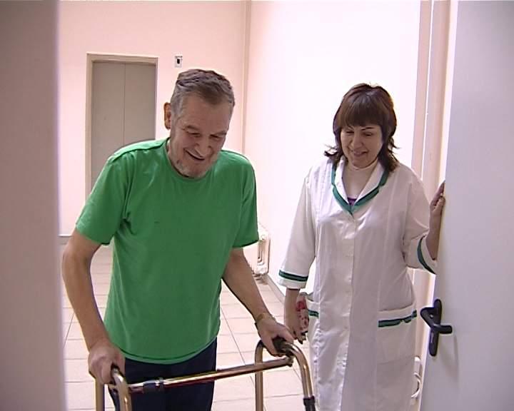 В Волчье-Троицком психоневрологическом доме-интернате появился лифт