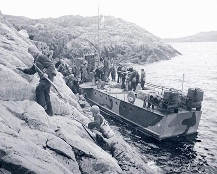 Выставка, посвященная освобождению Заполярья, в Музее Военно-морского флота