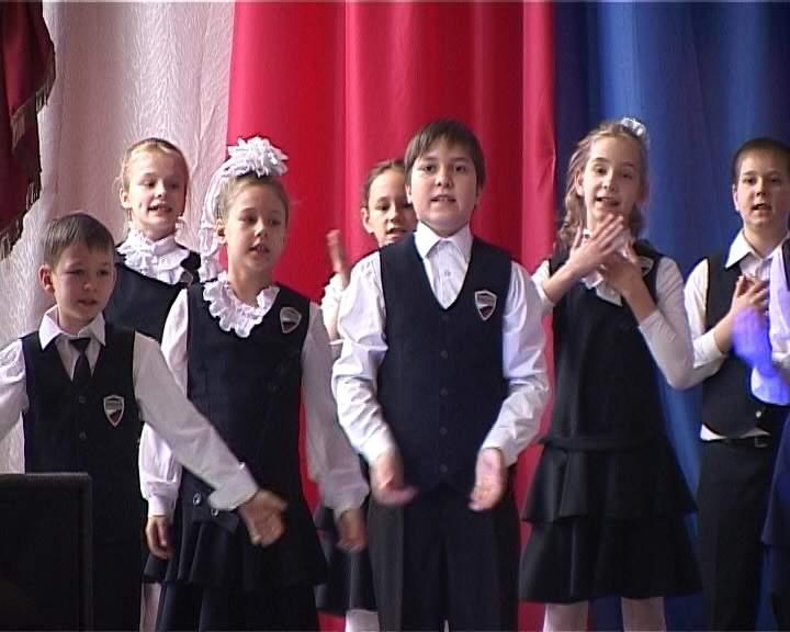Праздничный концерт для мам в школе № 20
