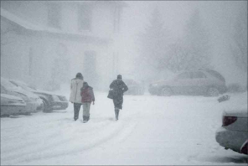 Метеопредупреждение на 4 декабря.