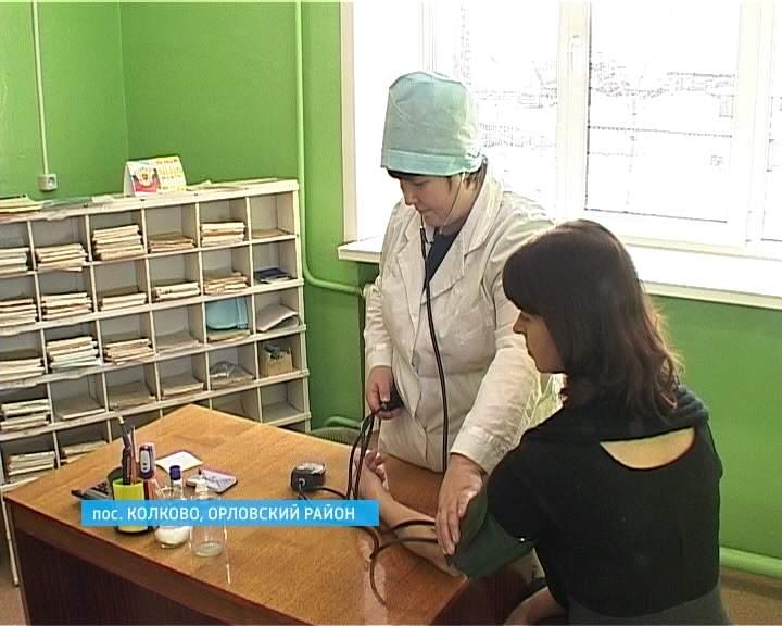 Работа ФАПА в селе Колково Орловского района
