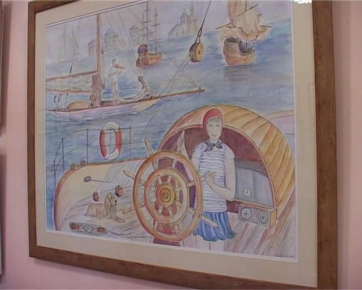 Выставка художницы Ольги Барышниковой
