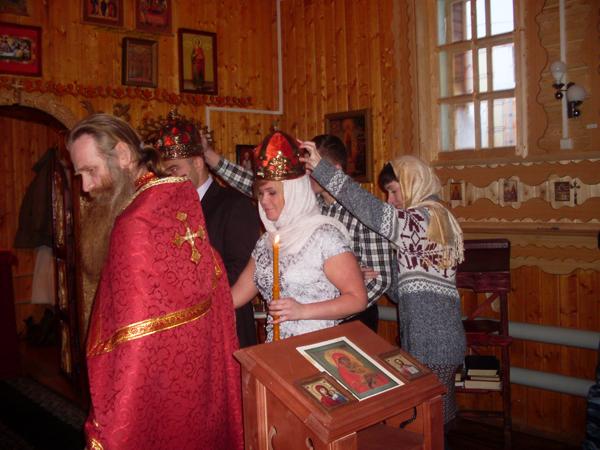 В ИК-27 УФСИН России Кировской области провели обряд венчания.