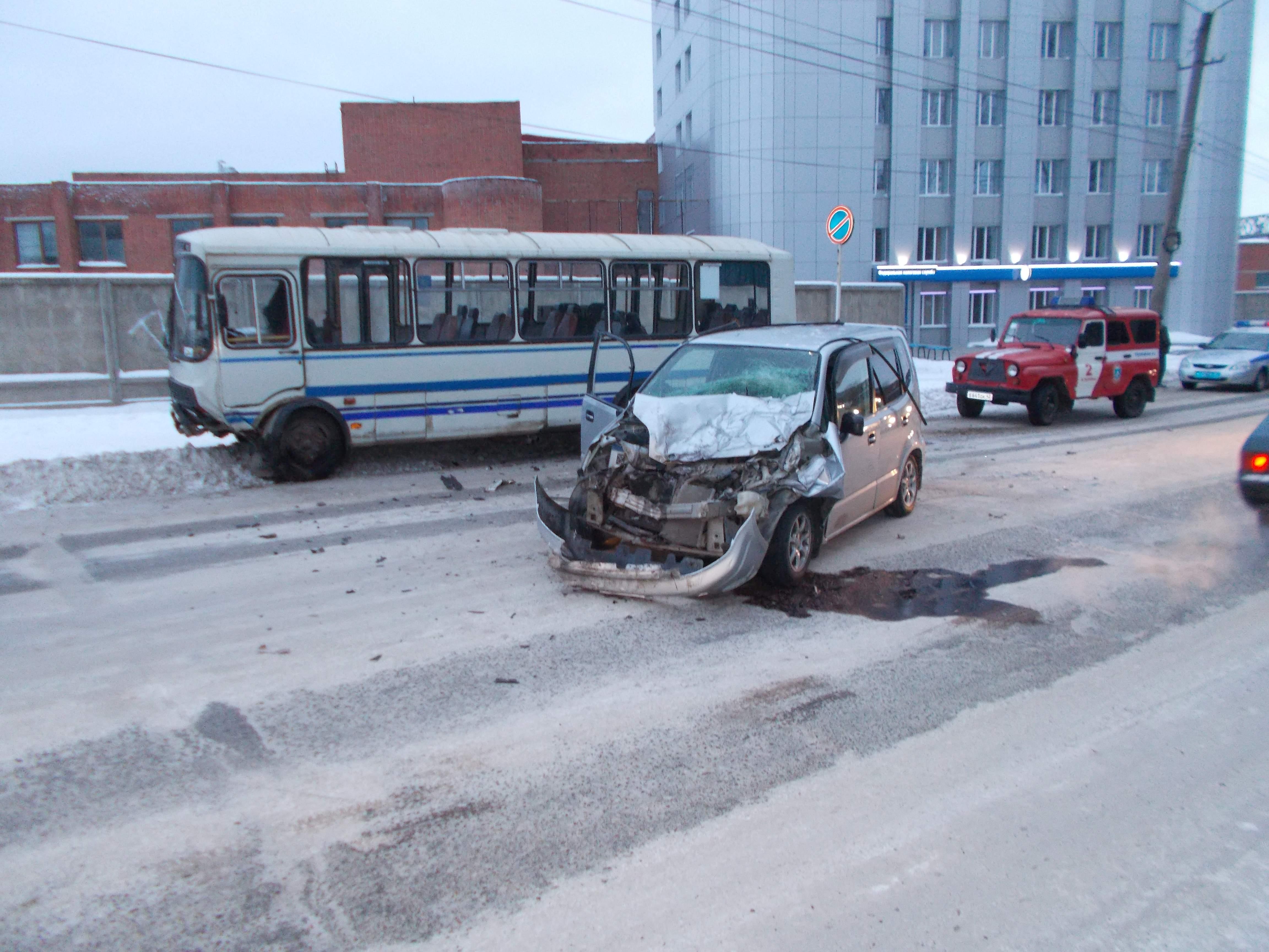 ДТП в Вятских Полянах.