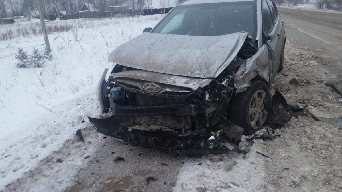 Авария в Нововятском районе.