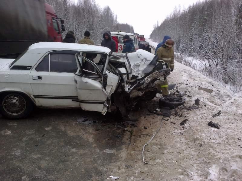Авария в Орловском районе.