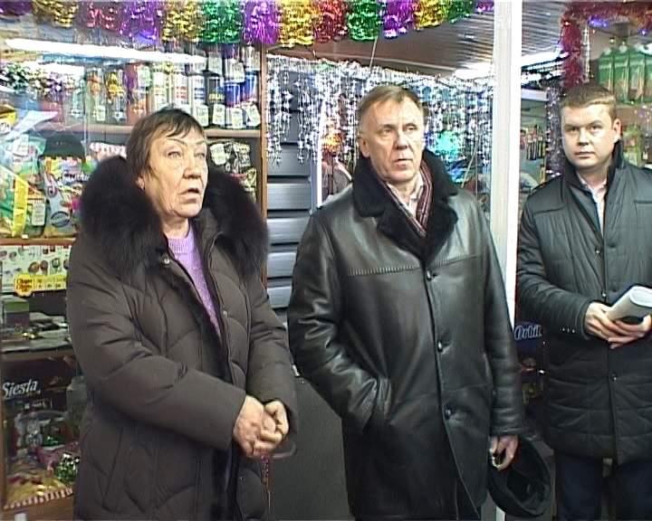 Рейд по нестационарным торговым объектам на улице Свердлова