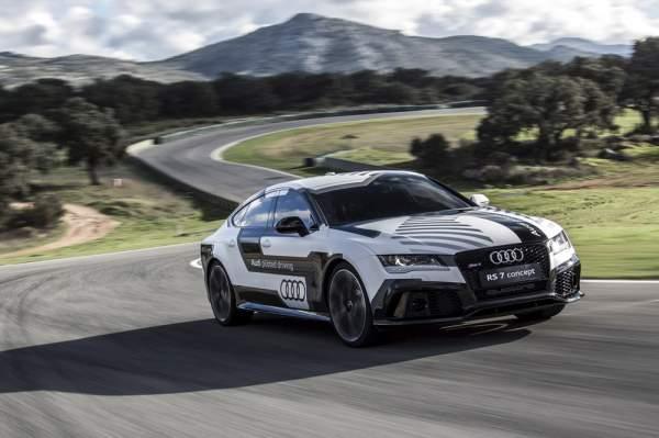 Завершились испытания Audi RS7 concept - самого быстрого в мире автомобиля без водителя.