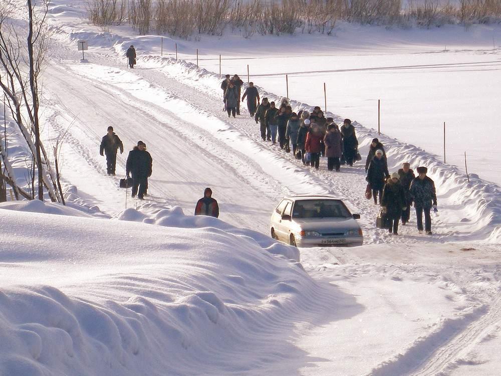 В Кировской области планируется открыть 7 ледовых переправ