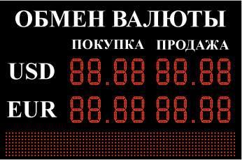 Российские банки начали закупать пятизначные табло для пунктов обмена валют.