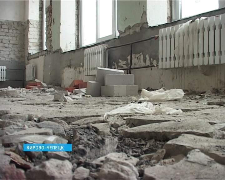 Реконструкция детского сада в Кирово-Чепецке