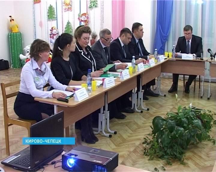 Визит Владимира Климова в Кирово-Чепецк