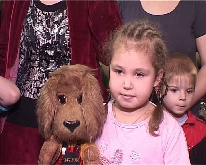 «Хрюшоу» для маленьких пациентов Кировской областной детской больницы