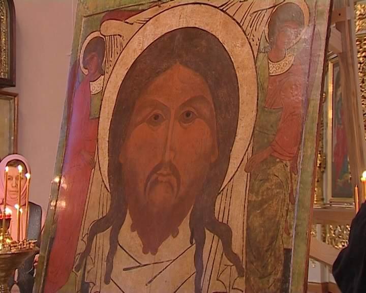 Возвращение иконы Спаса Нерукотворного