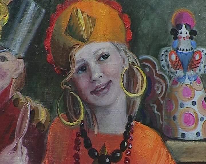 Выставка Инны Широковой в библиотеке имени Герцена