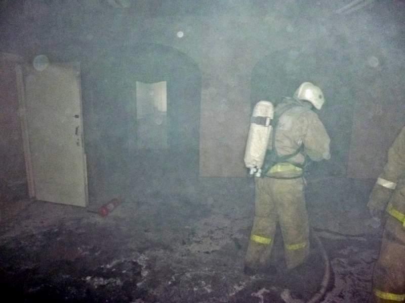 Благодаря сигнализации удалось избежать крупного пожара в школе