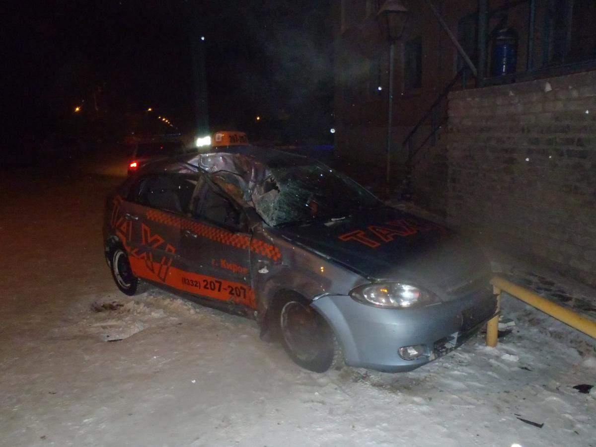 ДТП на ул. Северо-Садовая г. Кирова.