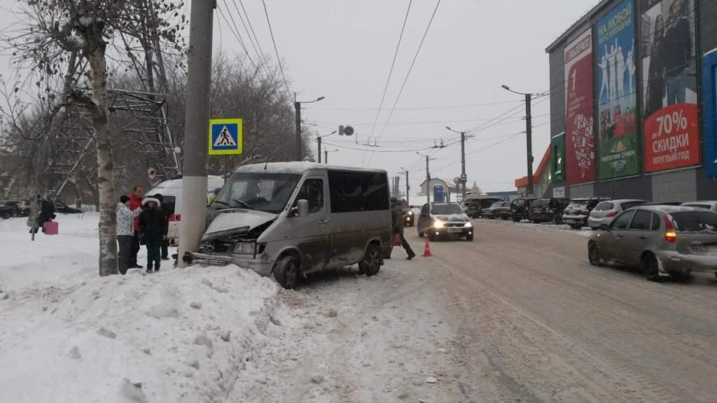 ДТП на улице К.Маркса г. Кирова.