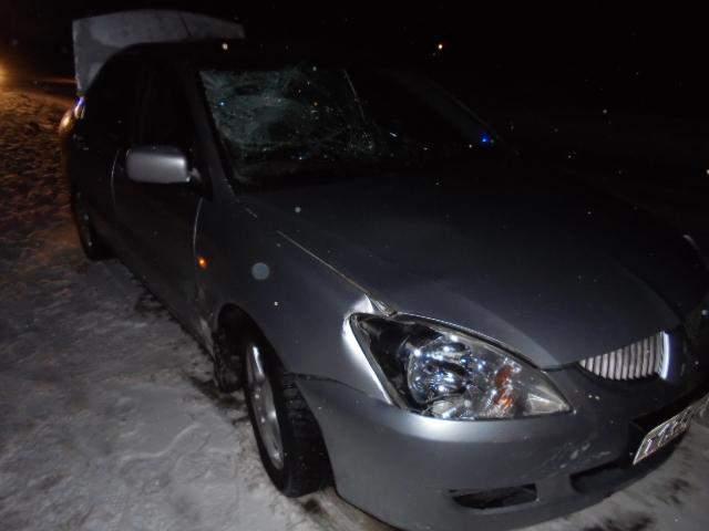 В Слободском районе под колесами «Митсубиси-Лансер» погиб пешеход.